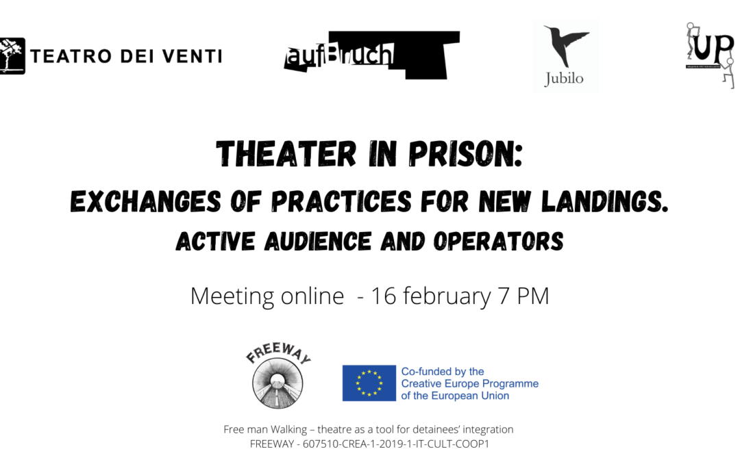 Audience & Operators meeting Tuesday February 16th at 7 pm